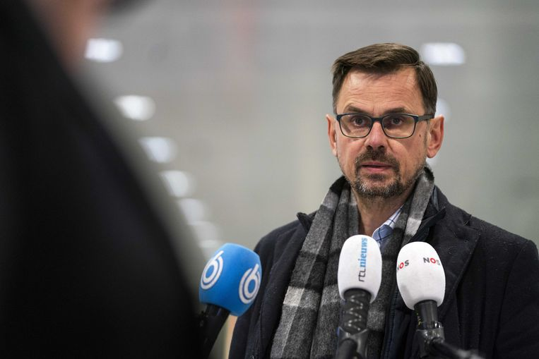 GGD-baas André Rouvoet. Beeld ANP