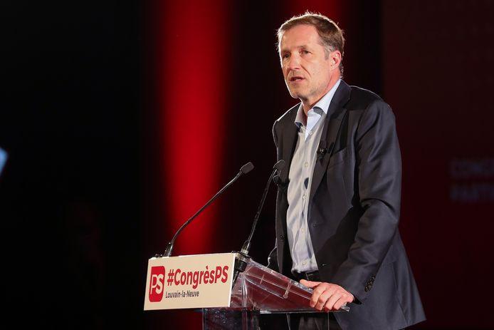 Le président du PS, Paul Magnette