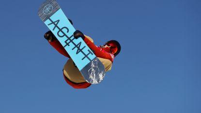 Snowboarder Seppe Smits slaagt er niet in een finaleplaats te bemachtigen voor de big air