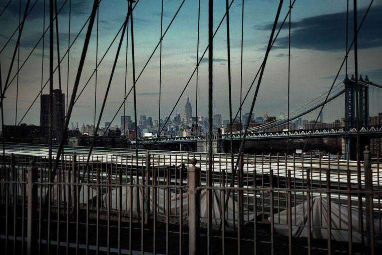 Brooklyn Bridge, New York City.  Beeld ©Paolo Pellegrin / Magnum Photo