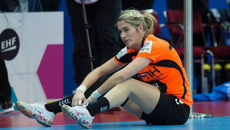 Estevana Polman baalt na de verloren EK-finale Beeld null