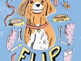 'Mijn hond Flip redde mijn leven'