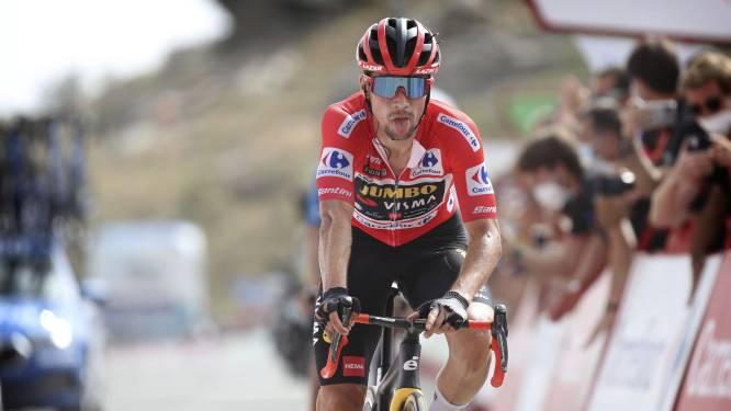 Roglic rijdt alle concurrenten in Vuelta op achterstand: 'Gelukkig had ik de benen om het af te maken'