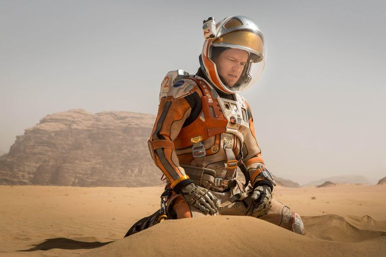 'The Martian' (2015).  Beeld Alamy Stock Photo