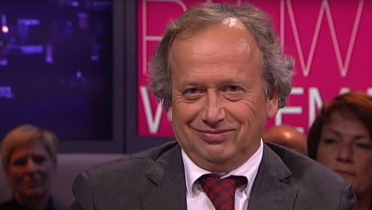 CDA-minister Henk Bleker bij Pauw en Witteman. Beeld
