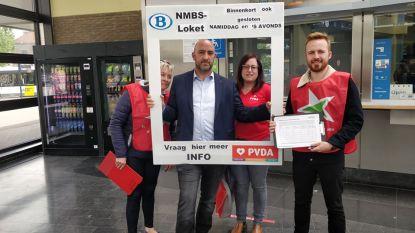 PVDA weigert permanente minimumdienst stationsloketten