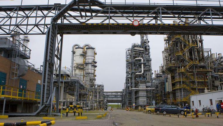 Overzicht van het terrein van chemiebedrijf Dow Chemical in het Zeeuwse Terneuzen. Beeld anp