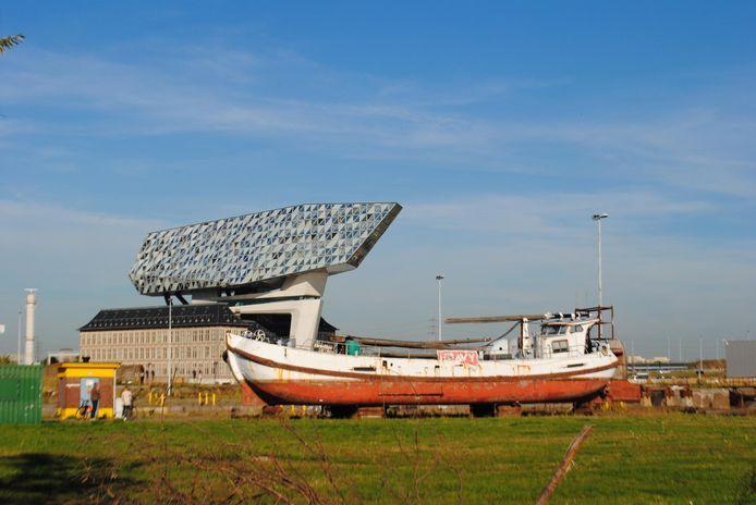 Het zeilschip Ortelius.
