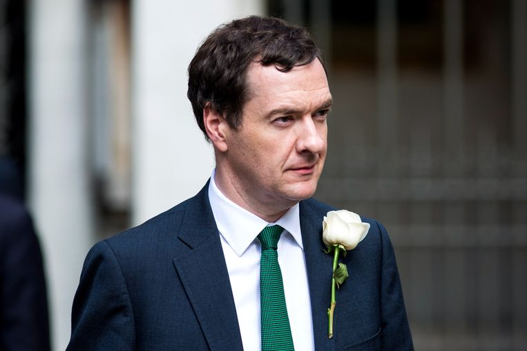 Financiënminister George Osborne. Beeld Getty Images