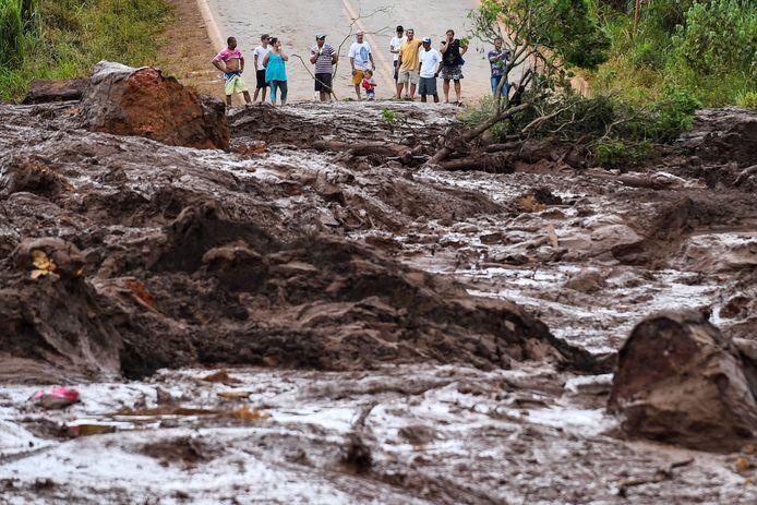 Op 25 januari leidde een dambreuk in het stadje Brumadinho tot een enorme modderstroom die het leven kostte aan zeker 248 mensen. 22 anderen zijn nog steeds vermist.