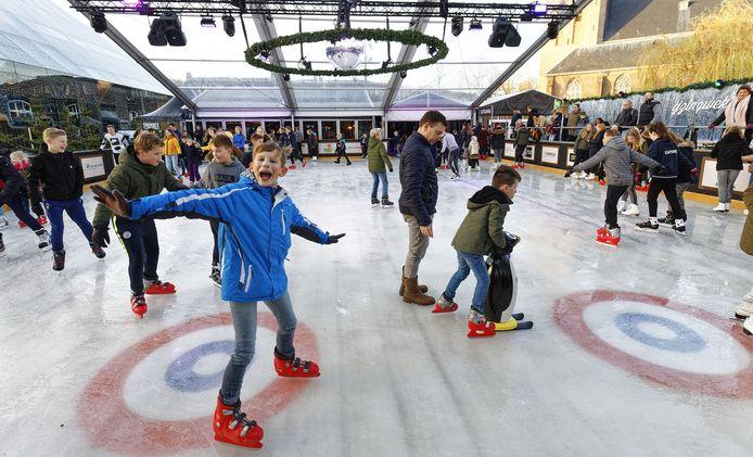 Het Winterpark in Schijndel in 2019, dit jaar komt er in ieder geval geen horecatent bij.