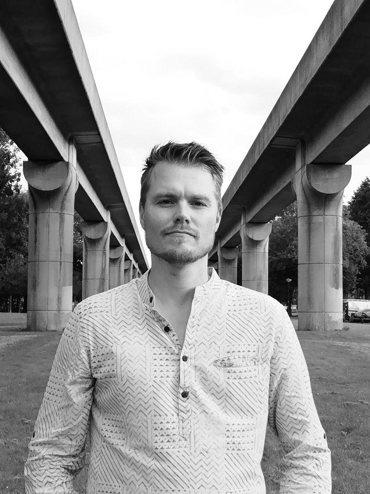 Mark Bos is programmamanager onderwijs bij het Humanistisch Verbond. Beeld -