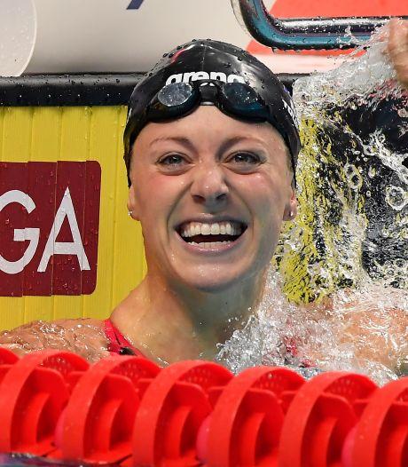 Toussaint zwemt in Kazan naar nieuw nationaal record op 100 meter rugslag