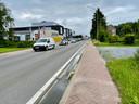 Met file richting Holsbeek, Wilsele, Leuven tot gevolg.