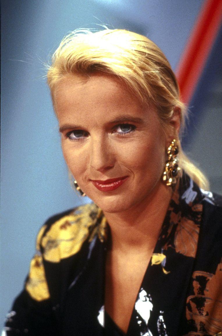 1990-06-15 00:00:00 NLD-900615-HILVERSUM: Linda de Mol, presentatrice, actrice. COPYRIGHT KIPPA Beeld ANP Kippa