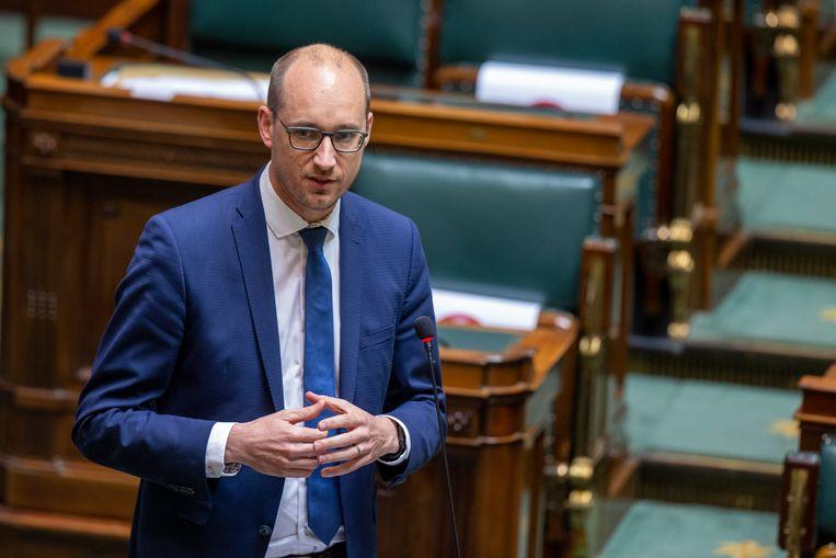 Minister van Financiën Vincent Van Peteghem (CD&V). Beeld BELGA