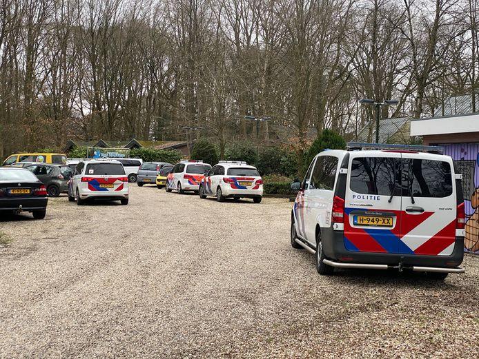 Er was op 22 maart in Hierden veel politie aanwezig.