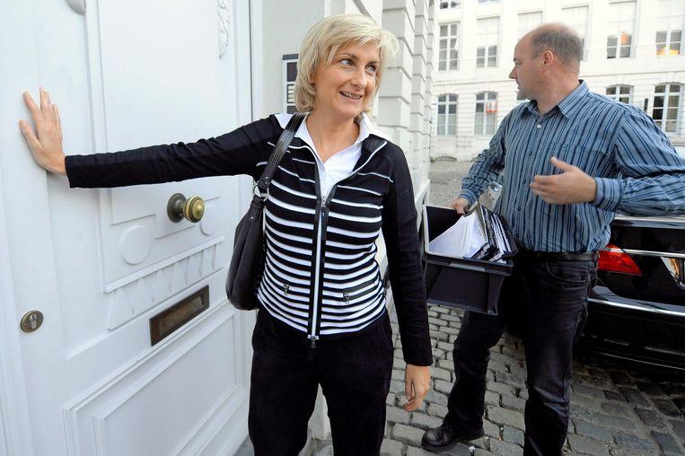 Vlaamse minister van Mobiliteit Hilde Crevits. Beeld UNKNOWN