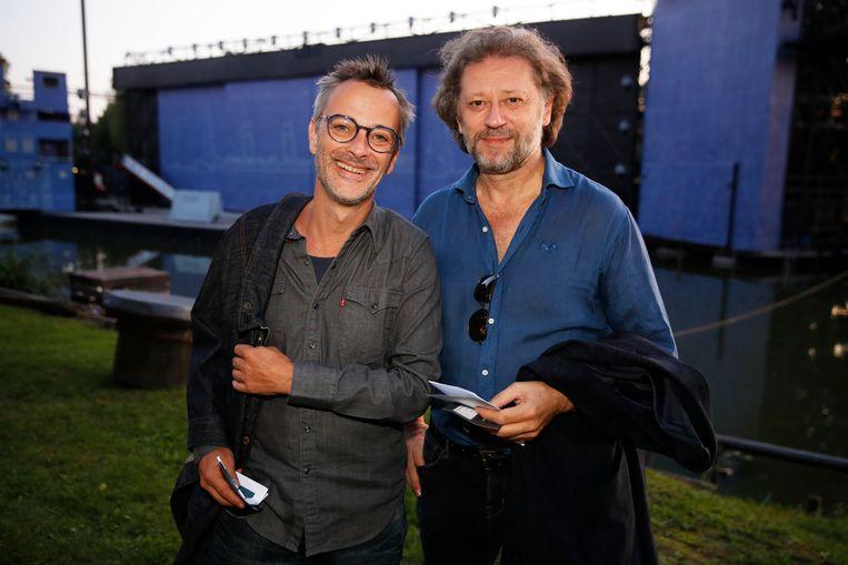 Hans Peter Janssens en Sebastien De Smet kwamen samen kijken naar de musical.