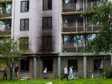 Brand studentenflat Diemen gesticht 'om verzekeringsgeld'