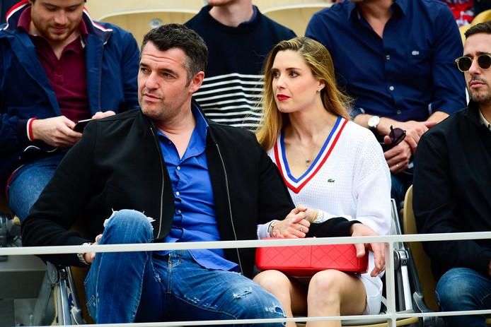 Arnaud Ducret et sa compagne, Claire Francisci