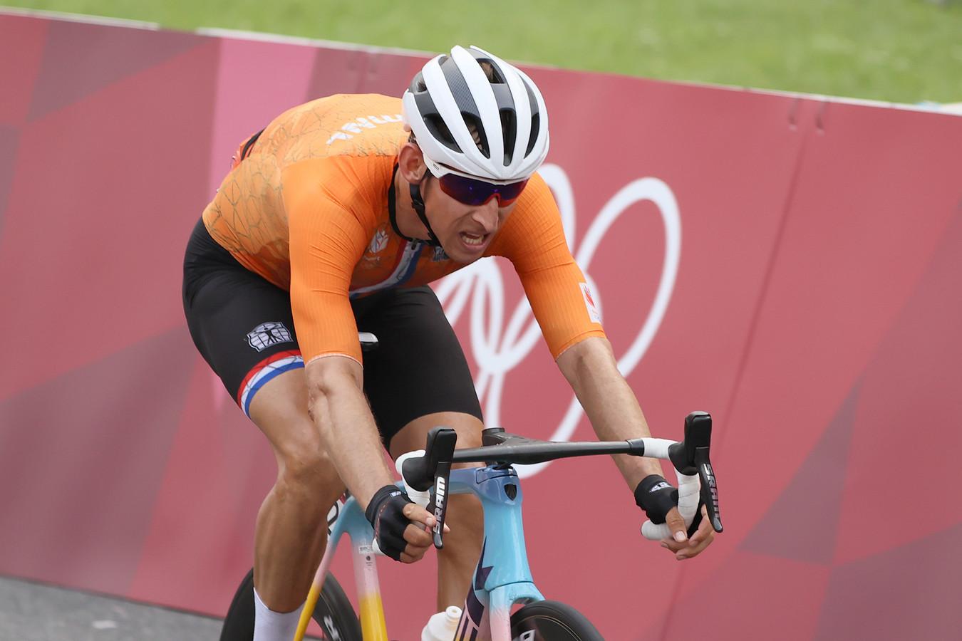 Bauke Mollema greep in Tokio net naast de medailles.