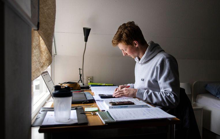 Hoe kun je een organisatie leren kennen vanuit je werkplek op je slaapkamer?   Beeld Hollandse Hoogte / Ramon van Flymen