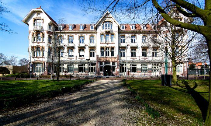 Het gemeentehuis van Oegstgeest, foto ter illustratie