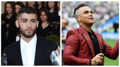 """Zayn Malik werd na de breuk met One Direction aan zijn lot overgelaten door Robbie Williams: """"Ik wilde hem niet bellen"""""""