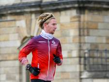 Deceptie: Frank Futselaar valt uit met kuitproblemen op marathon in Siena en lijkt kansloos voor Olympische Spelen