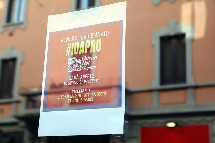 Een poster van IoApro.