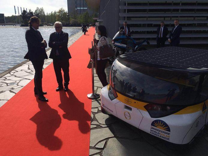 Minister Koenders en zijn Duitse collega zijn nu bij de Campus