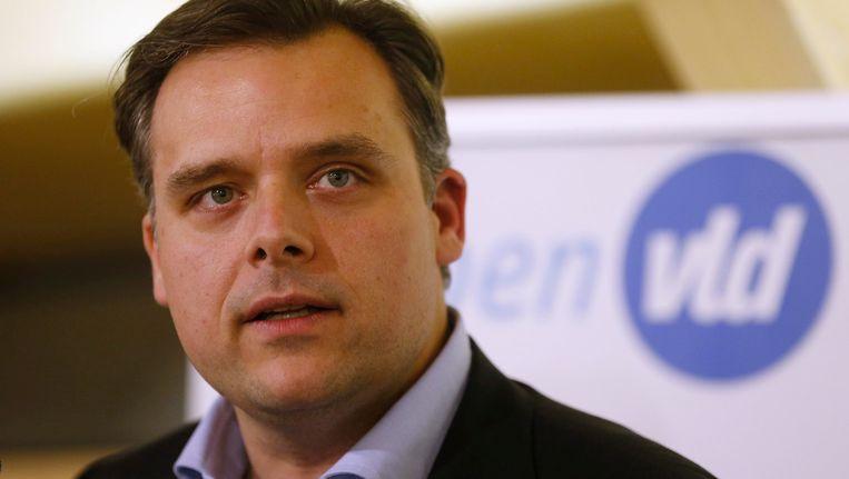 Staatssecretaris voor sociale fraude Philippe De Backer (Open vld).