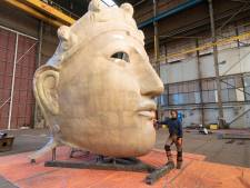 Romeins masker van 6 meter hoog maakt volgend jaar overtocht naar Lent