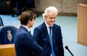 Thierry Baudet en Geert Wilders eerder dit jaar. De twee zullen elkaar in de campagne niet aanvallen.