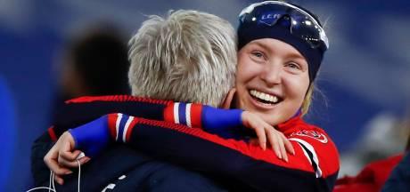 De Jong, Wüst en Wijfje grijpen naast medailles op 1500 meter, Noorse Wiklund verrast met goud