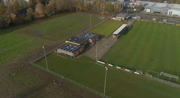 Sportpark HVV Helmond met eigen velden.