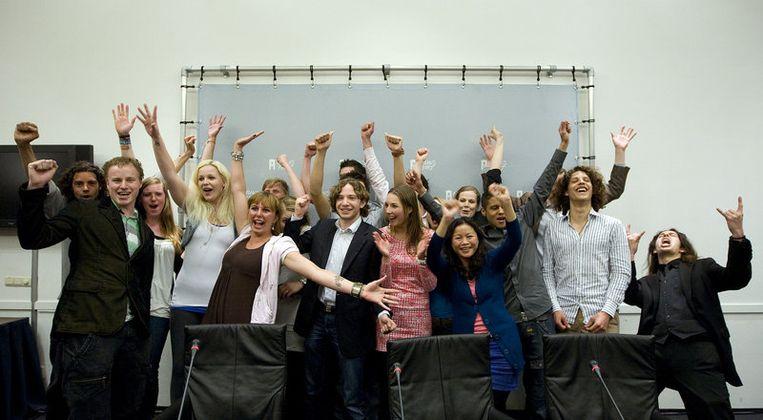 De kandidaten van Lijst 0. Foto ANP Beeld