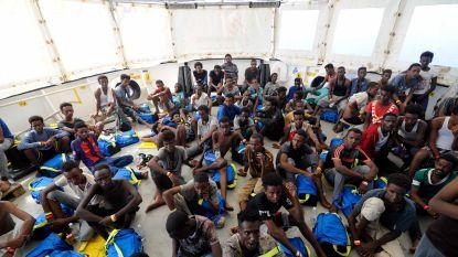 Vijf Europese landen willen 141 migranten op ngo-schip Aquarius opvangen