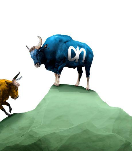 Jumbo vs AH: Brabantse lefgozers hijgen in de nek van blauwe grootmacht