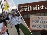 Ziekenhuis Amerika wijst personeel dat geen coronavaccin neemt de deur