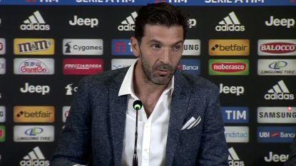 Einde van een tijdperk: Buffon speelt zaterdag laatste wedstrijd voor Juventus, pensioen nog onzeker