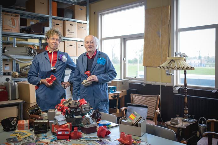 Robbert Kamphuis (links) en  Laurens van der Zee.
