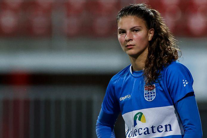 Danique Noordman heeft zich tot de zomer van 2024 aan PEC Zwolle verbonden.