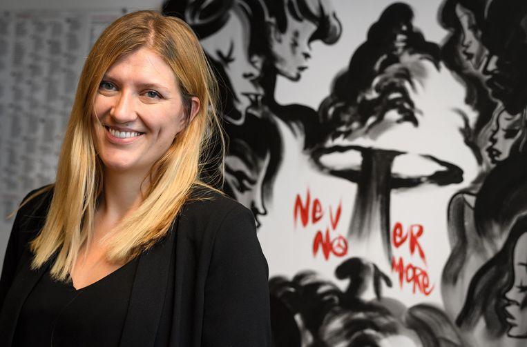 Beatrice Fihn Beeld AFP