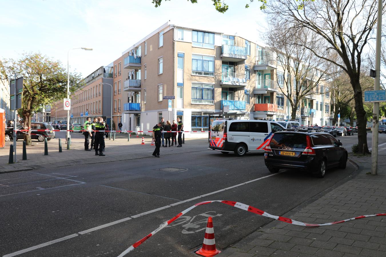 Schietpartij in de Ruijsdaelstraat.