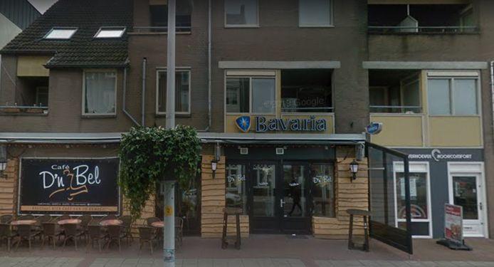 Café D'n Bel, gelegen aan de Markt in Bladel.