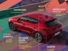 De moderne auto heeft minimaal tien antennes, maar je ziet ze niet of nauwelijks