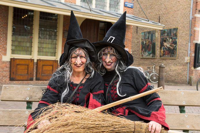 Heksen voor de Heksenwaag in Oudewater