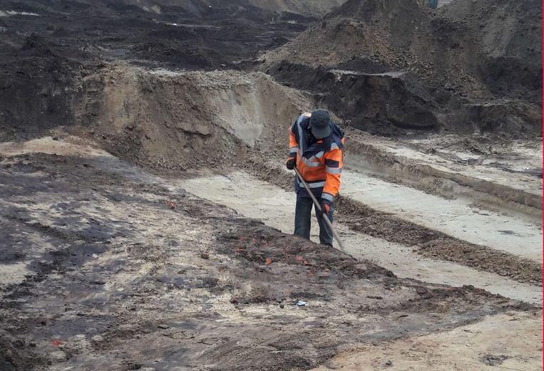 Opgravingen bij de toekomstige verkaveling aan Meierend in Retie.